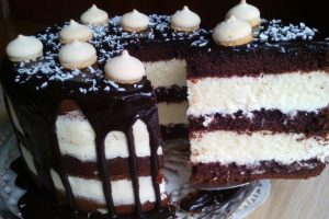 Райська насолода «Торт Баунті» – кращий рецепт