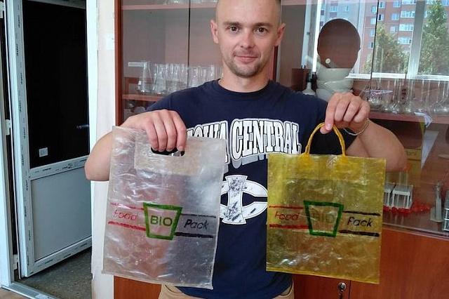 Пакети, які можна їсти: стартап українців переміг на конкурсі у Данії