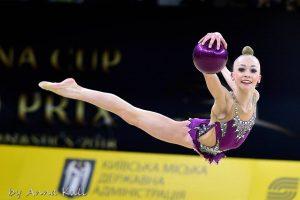 Львів'янка Христина Погранична увійшла в ТОП-10 найсильніших гімнасток на етапі Кубка світу в Мінську