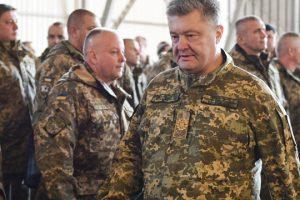 Порошенко наказав силам ООС відповідати на вогонь бойовиків із усієї наявної зброї