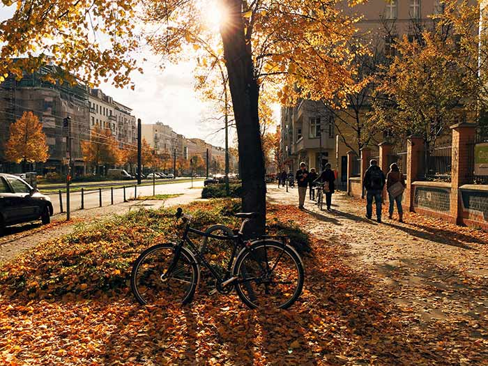 осінь Берлін