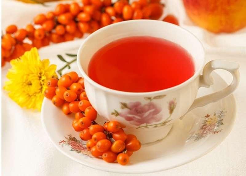 чай Обліпиха обліпихою