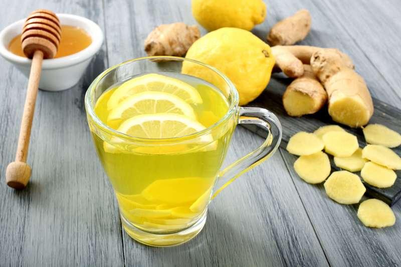 чай мед імбир лимон медом імбирем лимоном