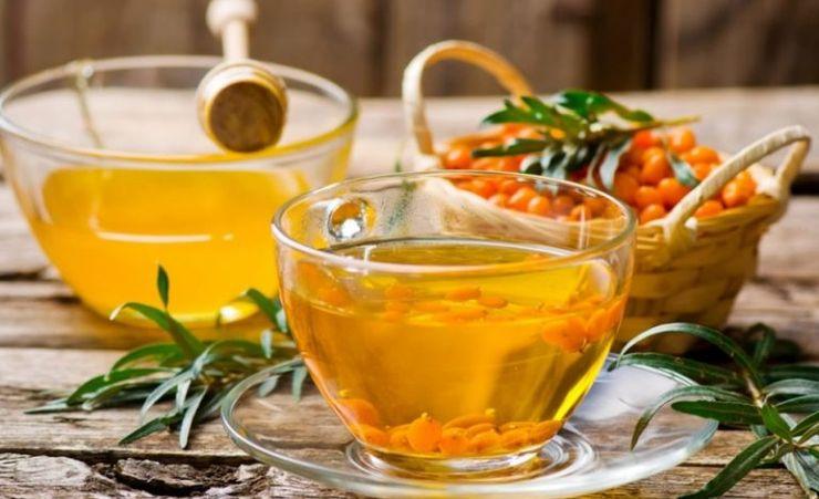 обліпиховий чай обліпиха