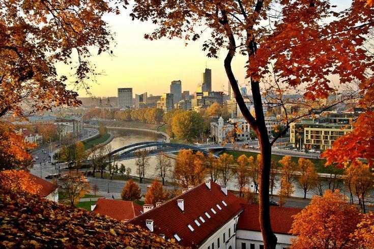 осінь Вільнюс