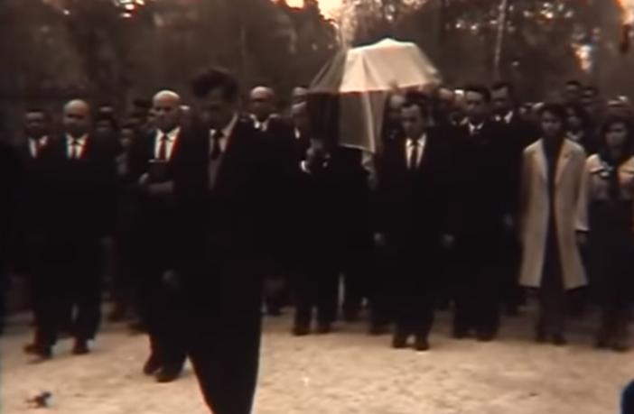 У мережу виклали унікальне відео похорону Степана Бандери