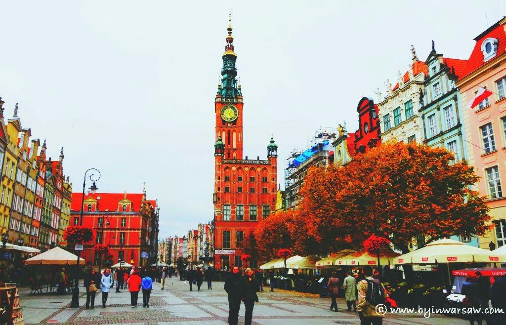 осінь Гданськ