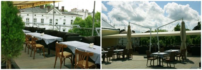 Тераса на даху пивної ресторації «Кумпель»