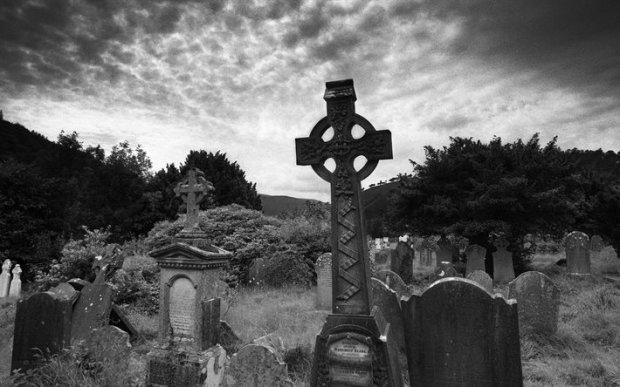 Цвинтар з вампіром