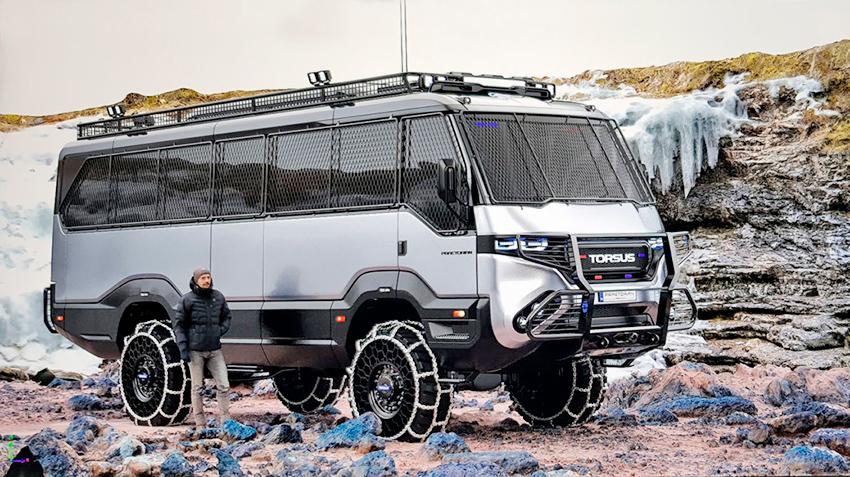 Як українці створили перший у світі автобус-позашляховик Автобус-позашляховик Torsus Praetorian