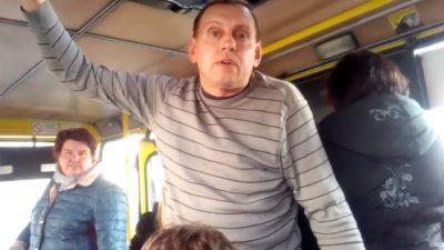 У Львові водій маршрутки накинувся з кулаками на підлітка, який не оплатив за проїзд