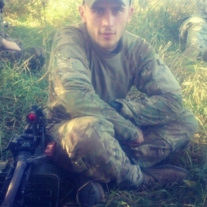 Фото: Віталій Драган - один з тих військових, які першими у2014-му році захищали Україну від окупантів (з особистого архіву Віталія)