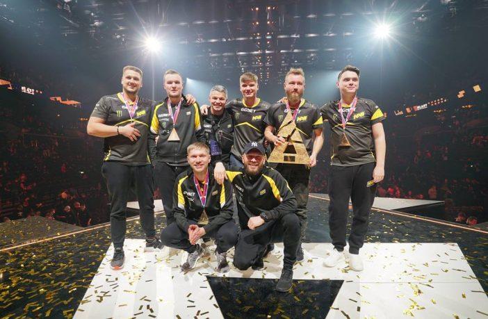 Українська команда NAVI виграла світові змагання з Counter-Strike та отримала $125 тисяч