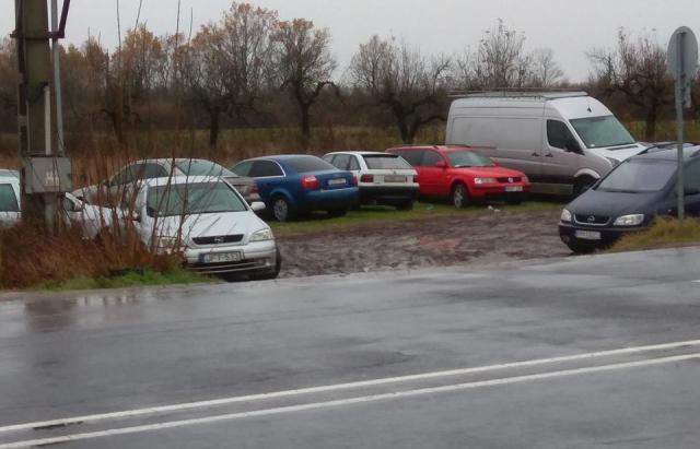 """""""Кладовище євроблях"""". На кордоні з Угорщиною покинуті авто розбирають на запчастини (ФОТО)"""