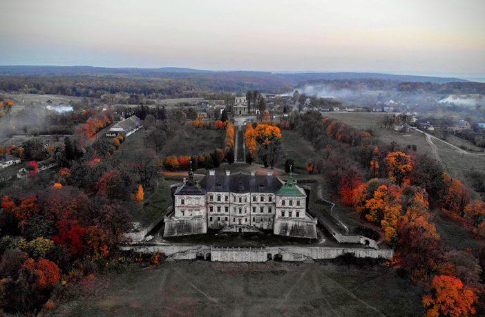 Вражаюча Галичина: Підгорецький замок з висоти пташиного польоту (відео)