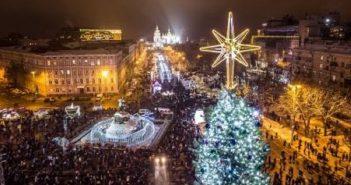 Новорічну ялинку в Києві визнали найкрасивішою в Європі