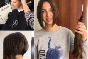 У Львові своє волосся на перуки для онкохворих дітей віддали понад 20 осіб