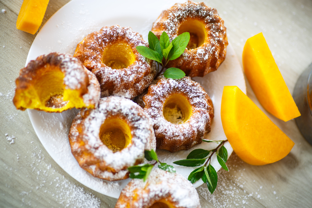 Гарбузові кекси з апельсином та лимоном