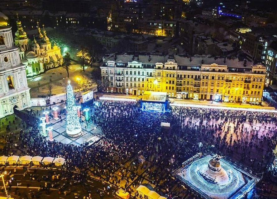 ялинку в Києві найкрасивішою в Європі