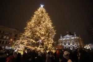 Тепле Різдво у Львові: 3D-мапінг, концерт Руслани та ще багато цікавого