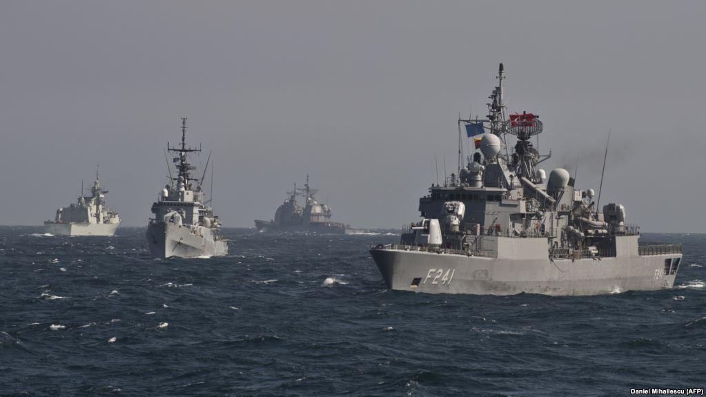 Кораблі НАТО в Чорному морі (архівне фото)