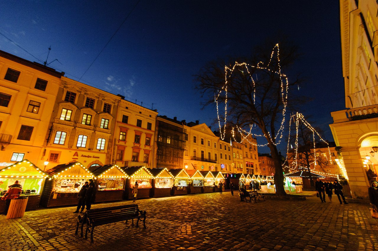 Різдвяний ярмарок у Львові 2018 Львів