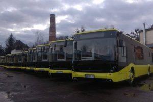 Комунальне АТП-1 отримало ще 10 нових автобусів «Електрон»