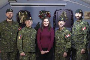 Відео. Військові Канади привітали Україну з Різдвом Христовим українською мовою