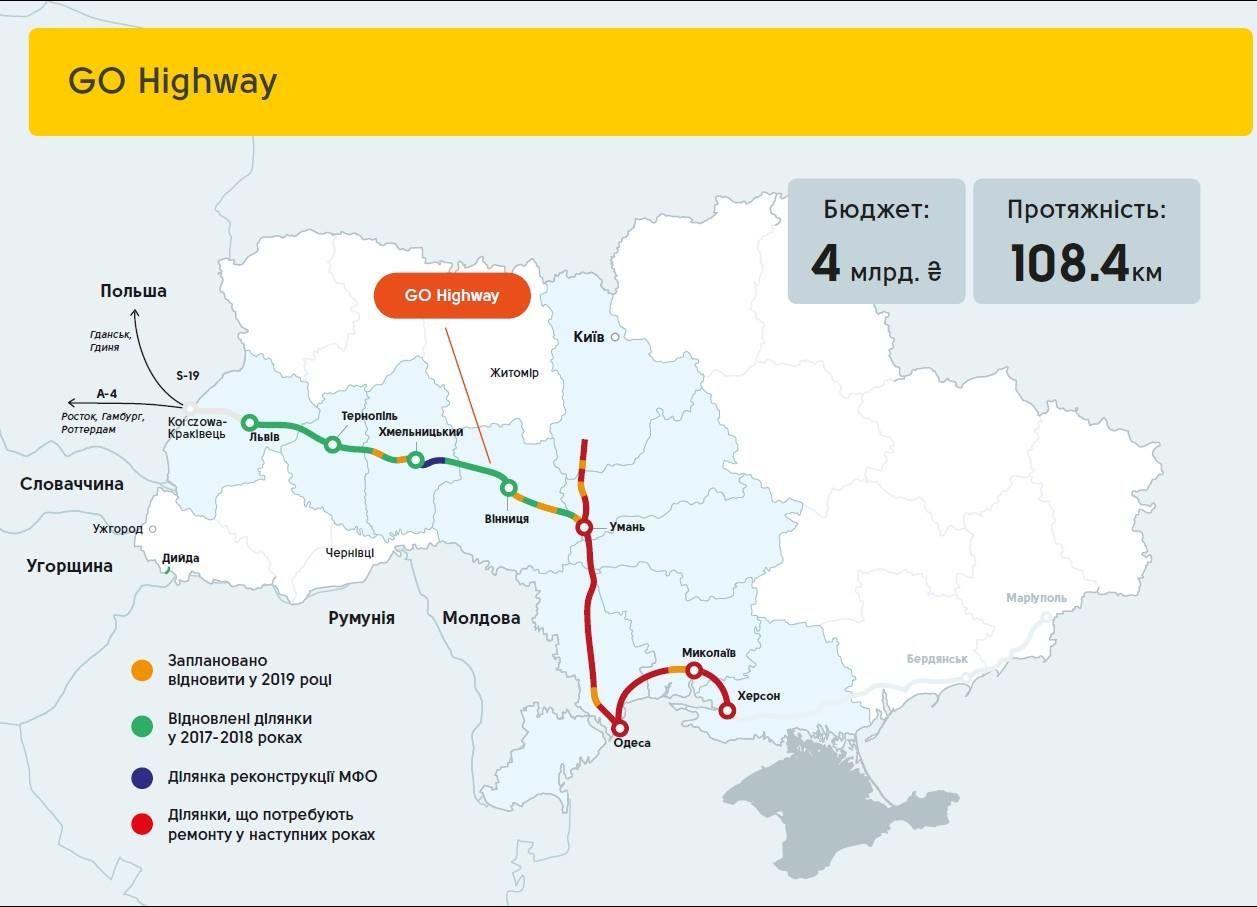 Від Львова до кордону Польщі зведуть європейську