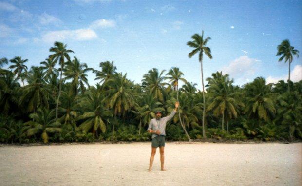 Мандрівник на Кокосових островах в Індійському океані