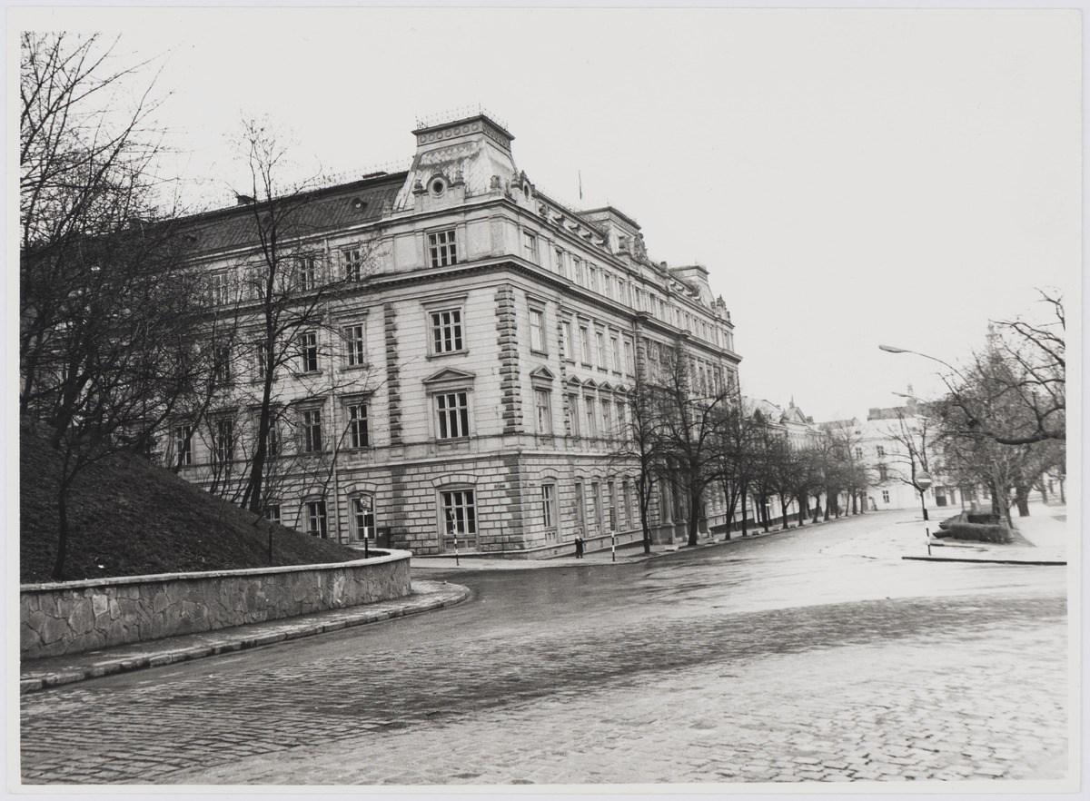 Львівський облвиконком, (сучасна вулиця Винниченка, 18), фото 1976 року