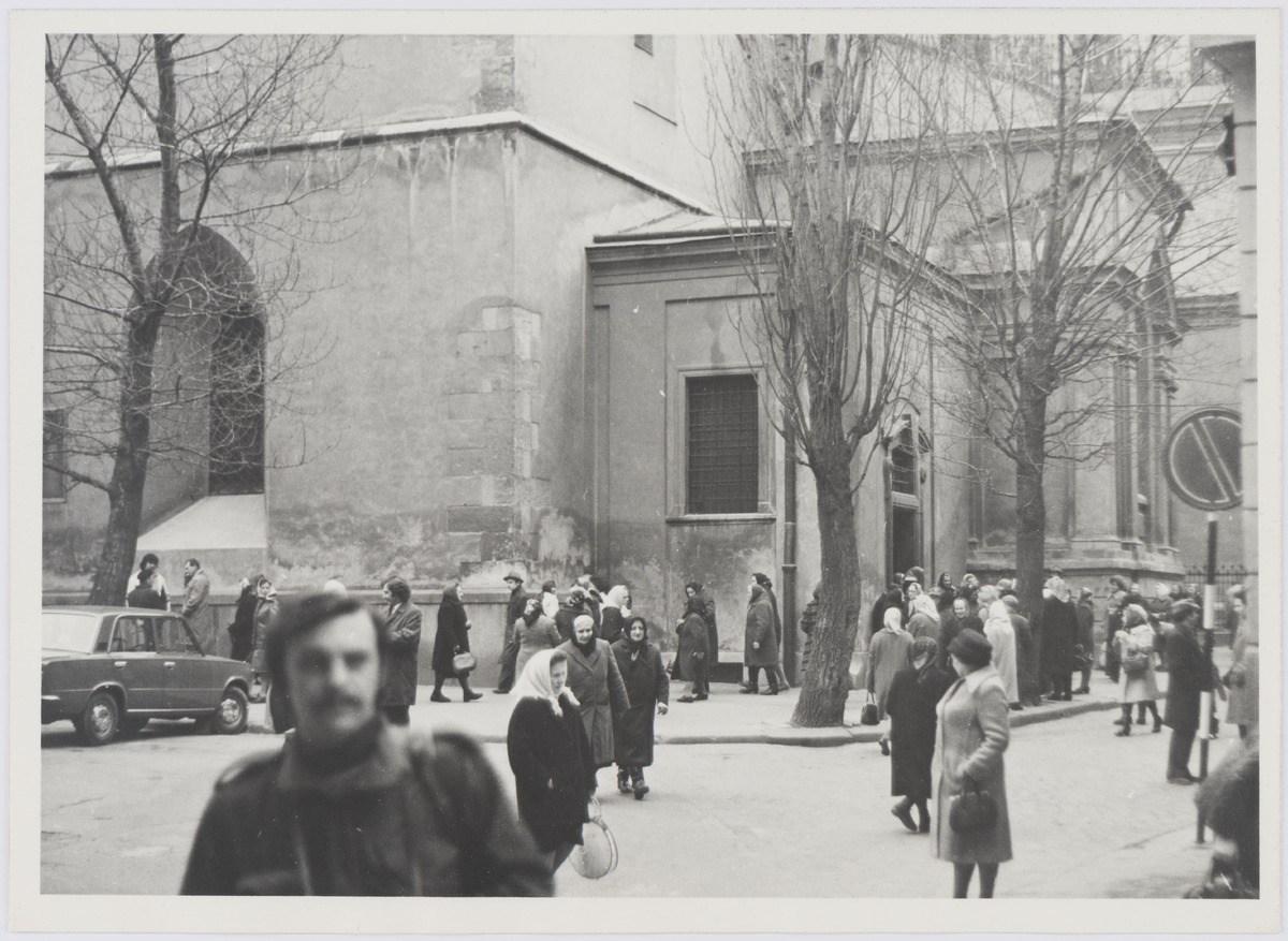 Латинський кафедральний собор у Львові, фото 1976 року