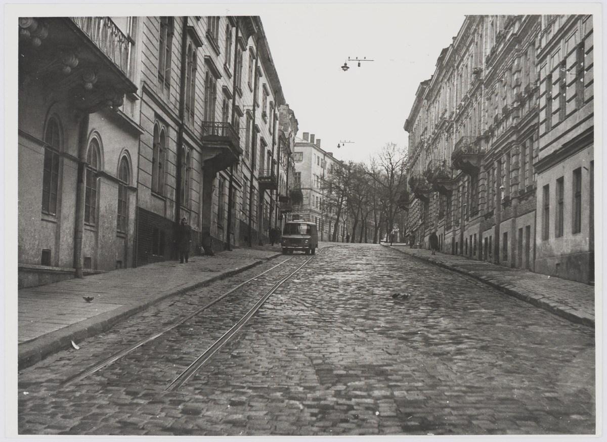 Львів, вулиця Лисенка, фото 1976 року