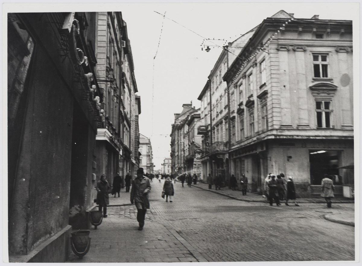 Львів, вулиця Галицька, фото 1976 року