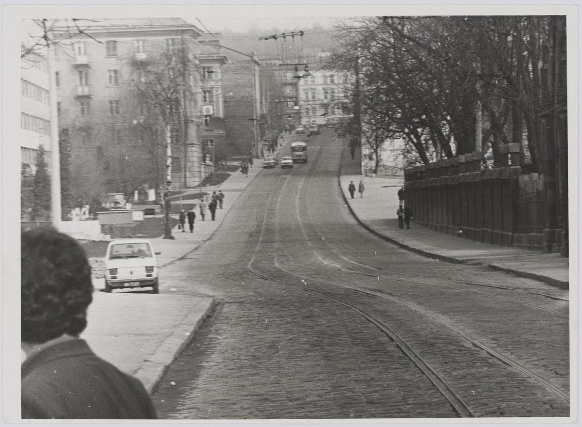 Львів, вулиця Мечнікова, фото 1976 року