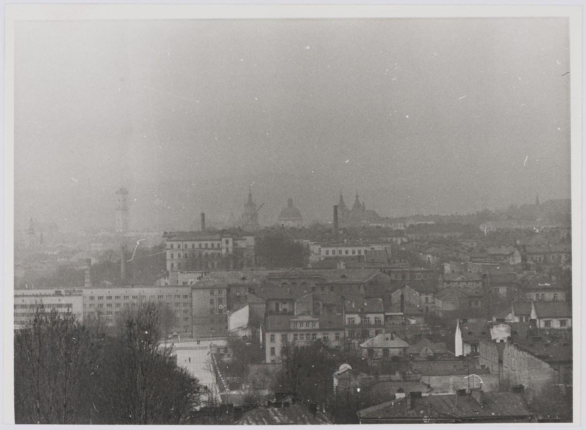 Панорама Львова, фото 1976 року