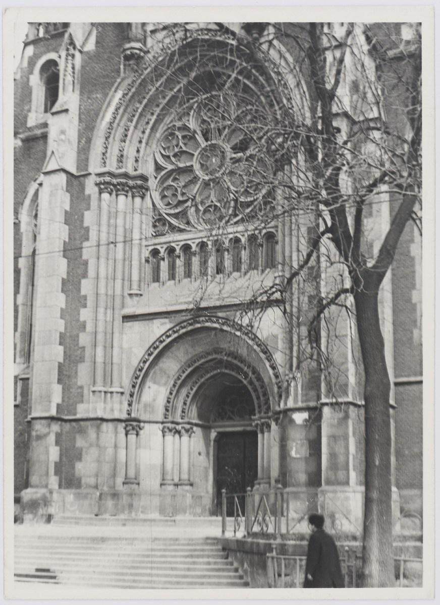 Церква святих Ольги і Єлизавети у Львові, фото 1976 року