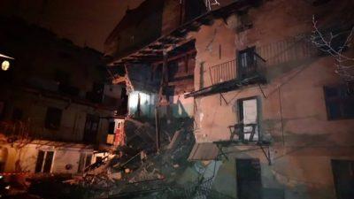 У центрі Львова обвалилась стіна житлового будинку