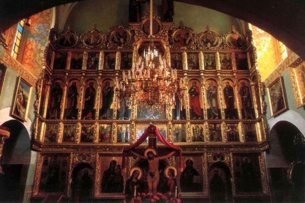 Іконостас церкви святої Параскеви П'ятниці. Початок ХХ ст