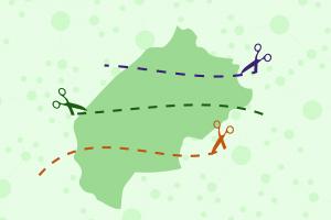 Шість мегарайонів, 67 громад. Карта нових районів і ОТГ Львівщини. Повний список населених пунктів