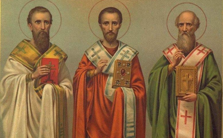 трьох святих