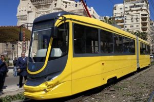В Єгипті запустили український трамвай з Wi-Fi і кондиціонером