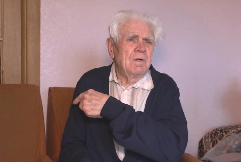 """88-річний Іван Денисенко Скріншот """"Тернопіль 1"""""""