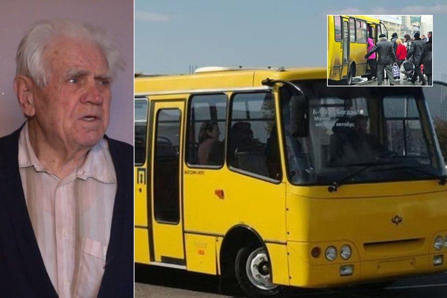 """""""Якщо не провчити, будуть знущатися"""": у Тернополі 88-річний пенсіонер покарав нахабного маршрутника"""