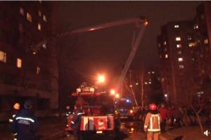 У Львові горів студентський гуртожиток. Евакуювали 500 людей. Відео