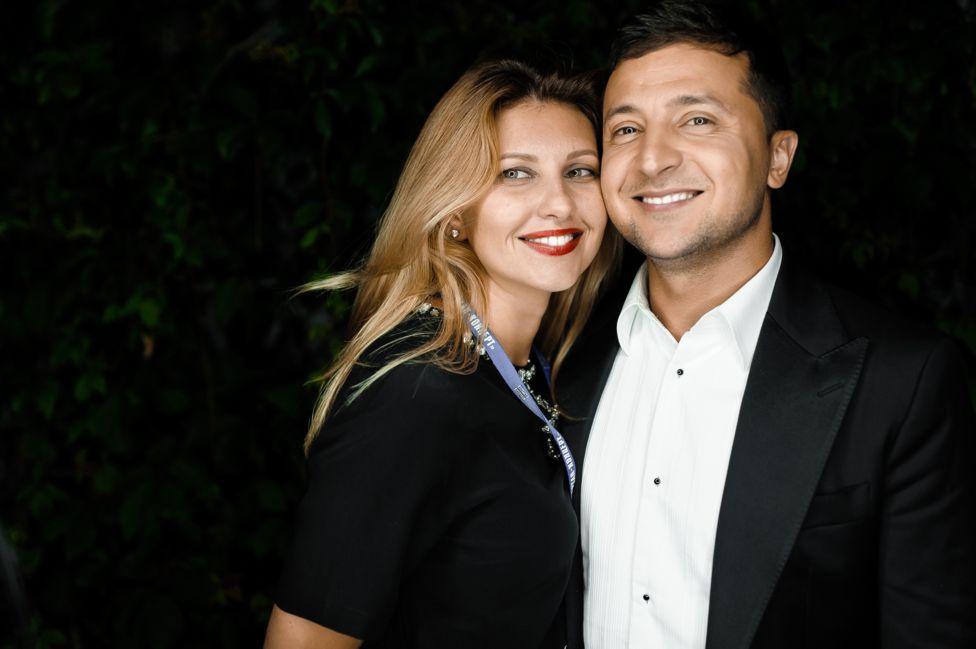 Володимир Зеленський та Олена Зеленська