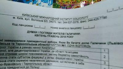 СБУ на Львівщині перевіряє законність скандального опитування про «перспективи регіону» та «окремої незалежної держави» (ФОТО)