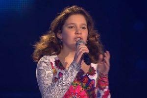 Дівчинка з України викликала фурор на німецькому «Голосі» і навіть судді не стримали сліз (відео)