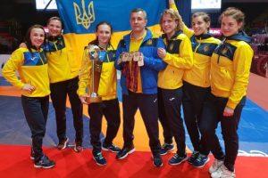 Жіноча збірна України тріумфально перемогла на чемпіонаті Європи з боротьби