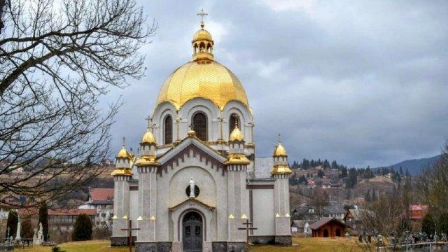 Церква Успіння Пресвятої Богородиці у Славському